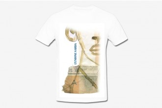T-shirt Salvatore Fancello - logo blu