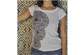 T-SHIRT FANTASIA BOTTONE SARDO