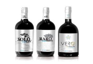 tris di distillati-solo wild gin, raro wild mirto, vero vermouth-pure sardinia